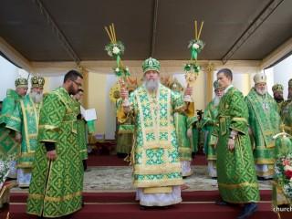 Архиепископ Димитрий принял участие в торжествах по случаю дня памяти преподобной Манефы Гомельской