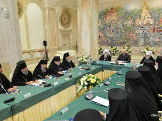 Архиепископ Димитрий принял участие во встрече Синода Белорусской Православной Церкви с Президентом Республики Беларусь