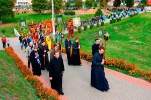Архиепископ Витебский и Оршанский Димитрий возглавил торжества по случаю праздника Оршанской иконы Божией Матери