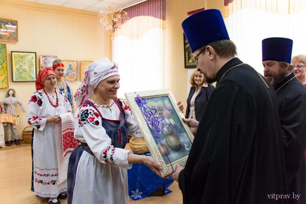 В культурно-оздоровительном центре городского посёлка Лиозно открыли первую в Витебской епархии кафедру православной литературы