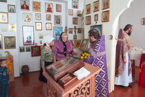 В храме Великолётчанского детского дома отметили престольный праздник