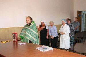Во 2-ой Витебской областной клинической больнице был отслужен молебен о здравии