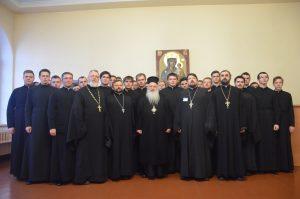 Митрополит Верии, Науссы и Камбании Пантелеимон посетил Витебскую духовную семинарию
