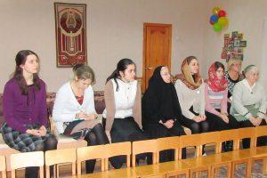 Учащиеся Витебского женского духовного училища посетили Витебский городской специализированный дом ребенка