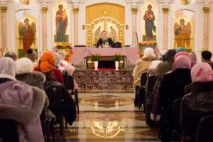 Архиепископ Димитрий встретился с женами священнослужителей витебских храмов