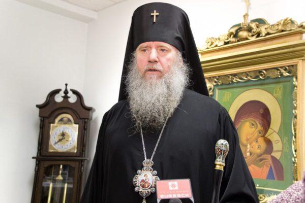 Рождественское приветствие архиепископа Витебского и Оршанского Димитрия