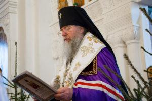 В день праздника Рождества Христова в Свято-Покровском соборе города Витебска состоялось соборное молебное пение