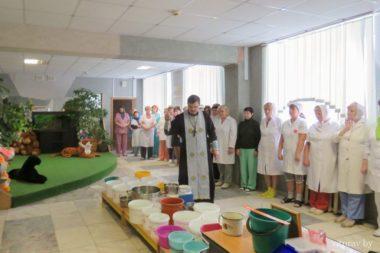 В Витебском областном специализированном Доме ребенка состоялось великое освящение воды