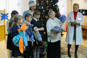 Рождественский праздник был организован для детей Витебского областного специализированного Дома ребенка