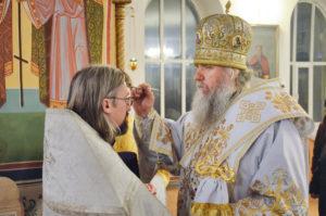 В канун праздника Богоявления архиепископ Димитрий совершил всенощное бдение в Свято-Троицком Марковом мужском монастыре