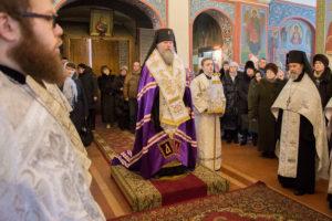 Рождественский соборный молебен в Свято-Покровском соборе
