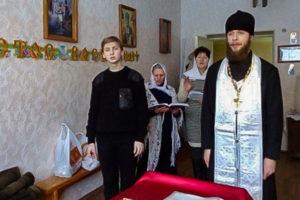 В праздник Рождества Христова прихожане храма Преображения Господня города Барань посетили Оршанскую городскую больницу № 3