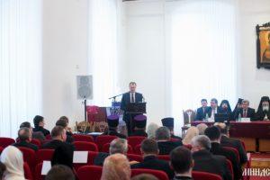 Представители Витебской епархии приняли участие в торжествах по случаю Актового дня Минской духовной семинарии