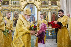 Представители Витебской епархии приняли участие в торжествах по случаю 65-летия митрополита Павла