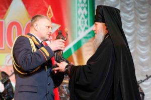 Архиепископ Димитрий получил награду «За укрепление авторитета и личный вклад в развитие милиции Витебской области»