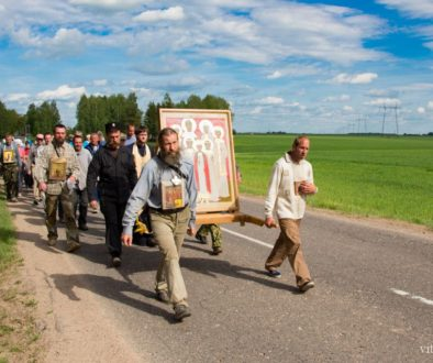Информация о крестном ходе по маршруту: Могилев — Витебск — Великие Луки — Псков