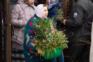 Вербное воскресенье в Витебске. Фоторепортаж