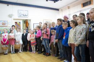 Открытие выставки-конкурса детского творчества «Детский вернисаж в Витебске»