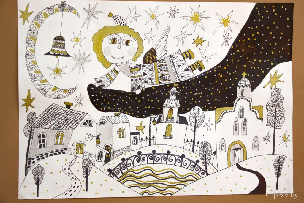 Торжественное открытие выставки-конкурса детского творчества «Божий мир глазами детей»