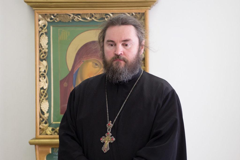 В преддверии Пасхи Христовой Владыка Димитрий провел пресс-конференцию с журналистами