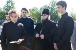 Участники православного крестного хода из Могилева в Псков прибыли в Росиию