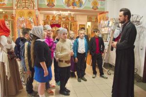 Выпускники класса духовно-нравственной направленности в завершение учебного года помолились в храме святого преподобного Антония Римлянина
