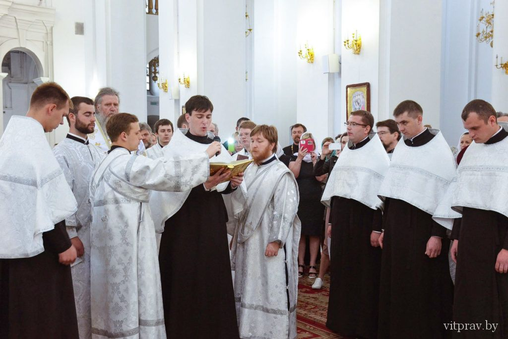 В Витебской духовной семинарии состоялся выпускной акт студентов очной и заочной формы обучения