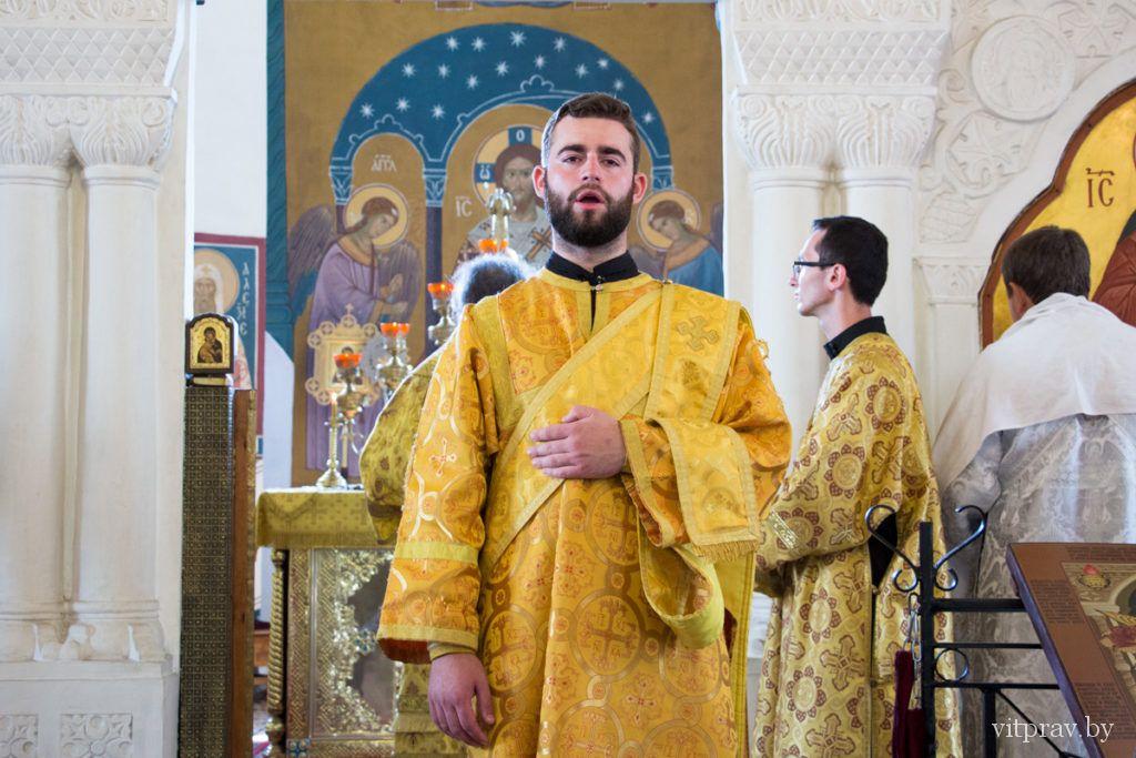 Архиепископ Димитрий совершил две хиротонии в Свято-Покровском соборе города Витебска