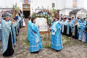 Престольные торжества в Свято-Успенском кафедральном соборе Витебска
