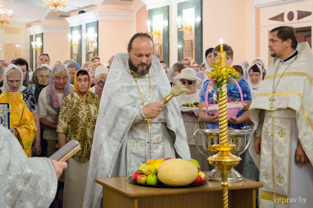 В храме Преображения Господня отметили престольный праздник