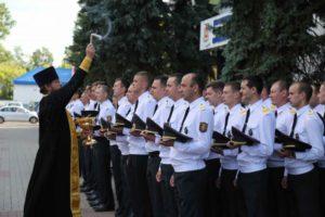 Священник Александр Кислый принял участие в праздновании 99-летия Витебской милиции