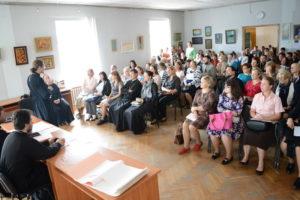 Директор воскресной школы Свято-Покровского собора Ульяна Шарендо приняла участие в семинаре для преподавателей воскресных школ