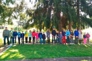 В православном детском лагере «Дружба» прошла приключенческая игра «Утерянная летопись»