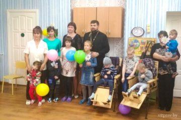 Иерей Сергий Лешкевич посетил Центр коррекционно-развивающего обученияиреабилитациигородаЛепеля