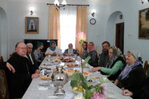 В Свято-Покровском соборе Витебска состоялась встреча с семьями, живущими в браке по 30-50 лет