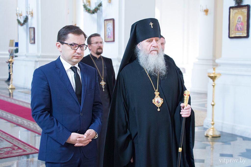 Посол Польши Конрад Павлик встретился с архиепископом Витебским и Оршанским Димитрием