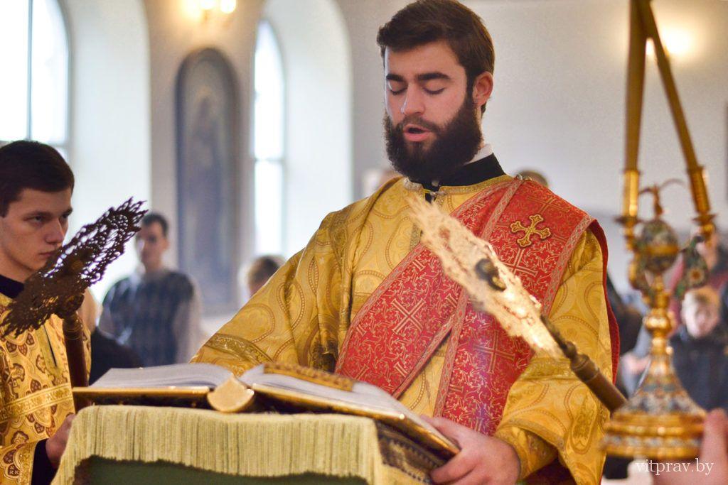 Архиепископ Димитрий совершил Божественную литургию в Марковом мужском монастыре города Витебска