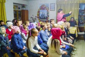 """Ученики школы №11 г. Витебска посетили воскресную школу при храме иконы Божией Матери """"Целительница""""."""