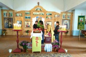 В храме преподобного Сергия Радонежского деревни Юрковщина отметили престольный праздник