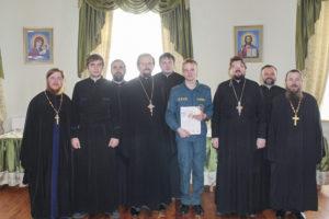 В Витебске состоялась беседа с духовенством о пожарной безопасности