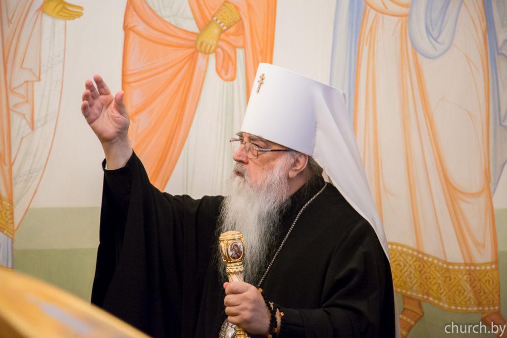 В Минске молитвенно отметили 52-летие со дня архиерейской хиротонии митрополита Филарета