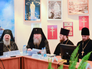 Представители Витебской епархии приняли участие в заседании Координационного совета по разработке и реализации совместных программ сотрудничества Православной Церкви и Государства