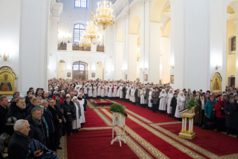 Торжества по случаю 25-летия возрождения Витебской епархии