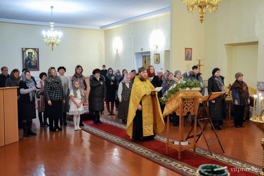 В Витебске прошел тематический вечер, посвященный 25-летию возрождения Витебской епархии
