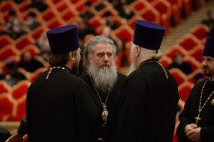 Архиепископ Дмитрий и духовенство Витебской епархии приняли участие Епархиальном собрании города Москвы