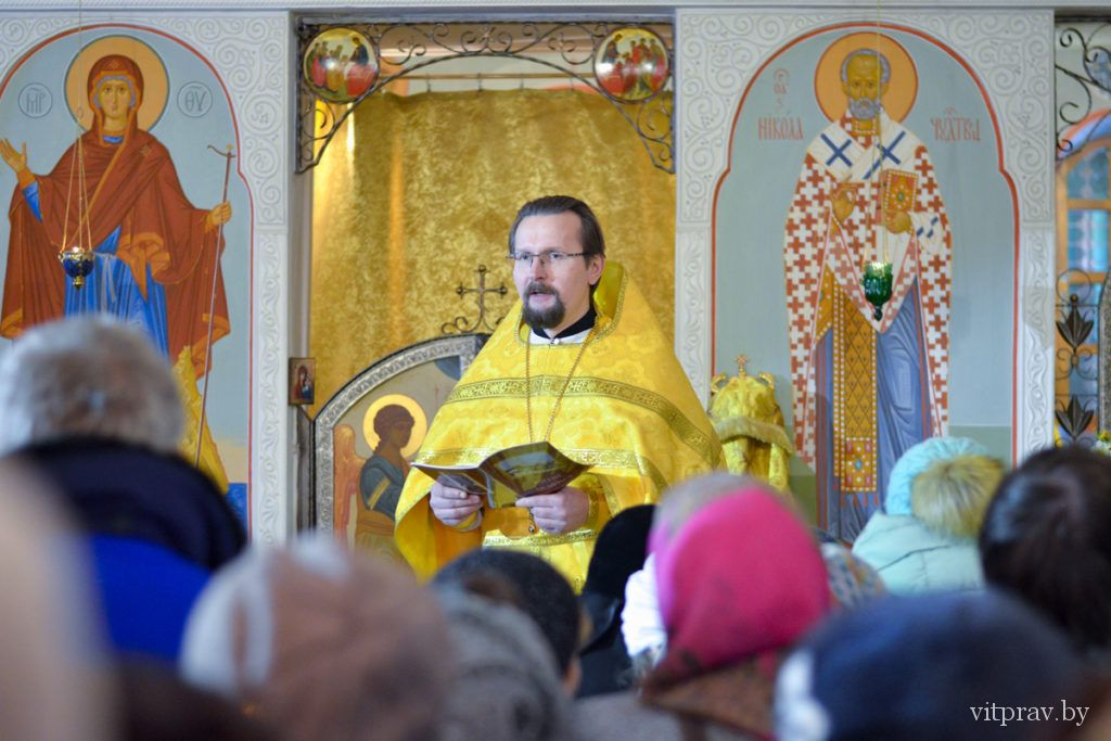 Архиерейскоебогослужение в день памяти святителя Николая Чудотворца. Фоторепортаж