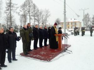 В Городке молитвенно почтили память воинов, погибших в годы борьбы с немецко-фашистскими захватчиками