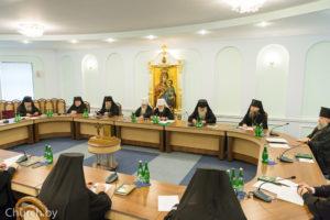 Архиепископ Димитрий принял участие в очередном заседании Синода Белорусской Православной Церкви