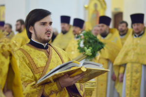 Божественная литургия и крестный ход в день памяти святого благоверного князя Александра Невского
