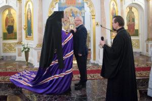 Рождественский молебен в Свято-Успенском кафедральном соборе